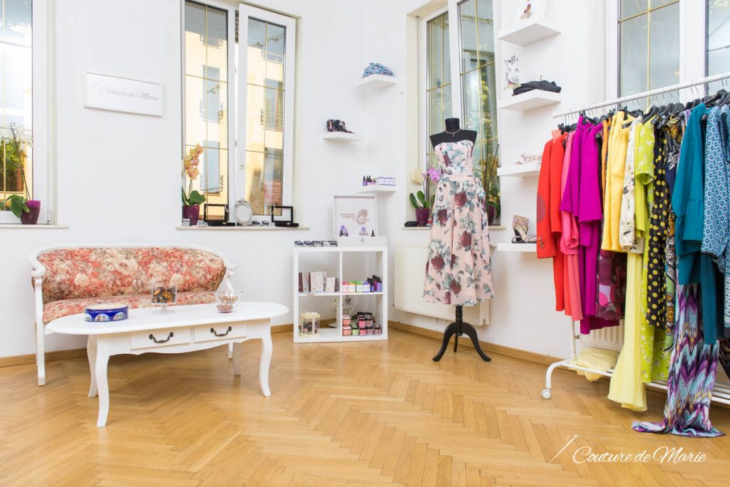 showroom couture de marie