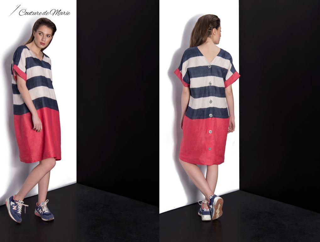 piese vestimentare in culori contrastante