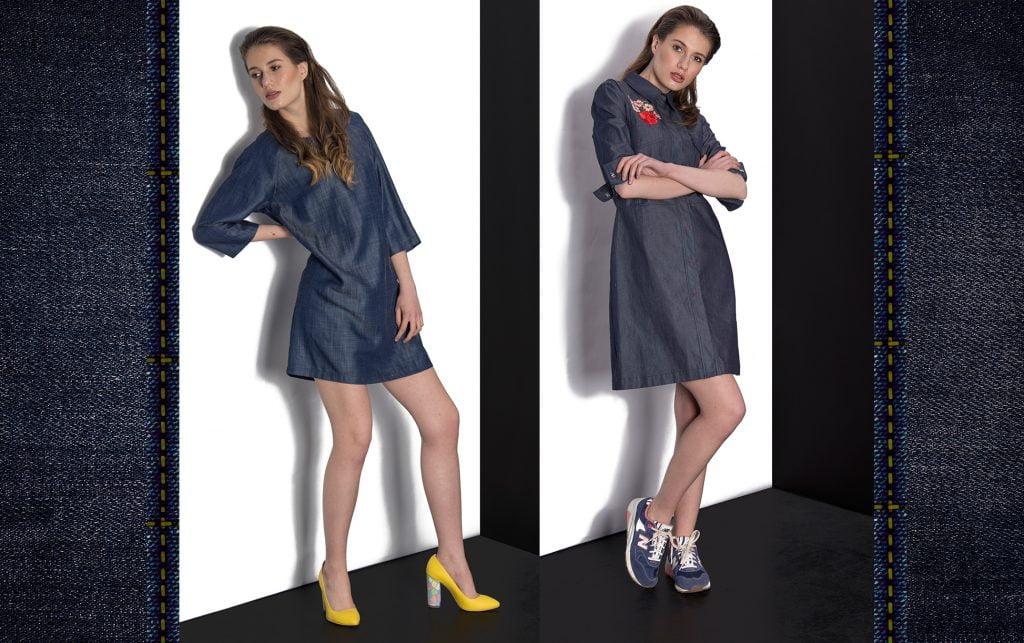rochii denim piese cheie de toamna