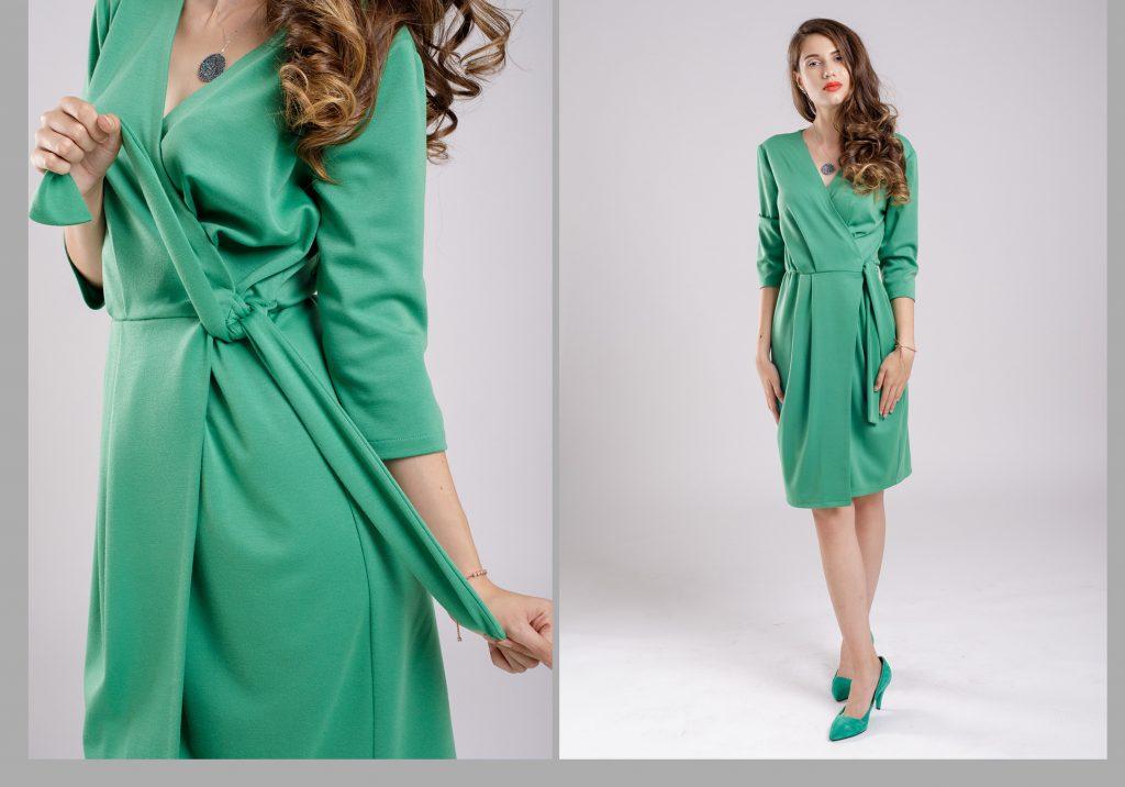 rochia verde plina de imaginație