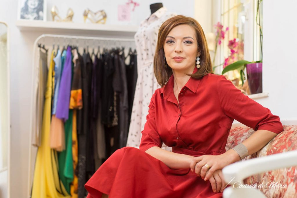 Claudia Ionita fondator Couture de Marie