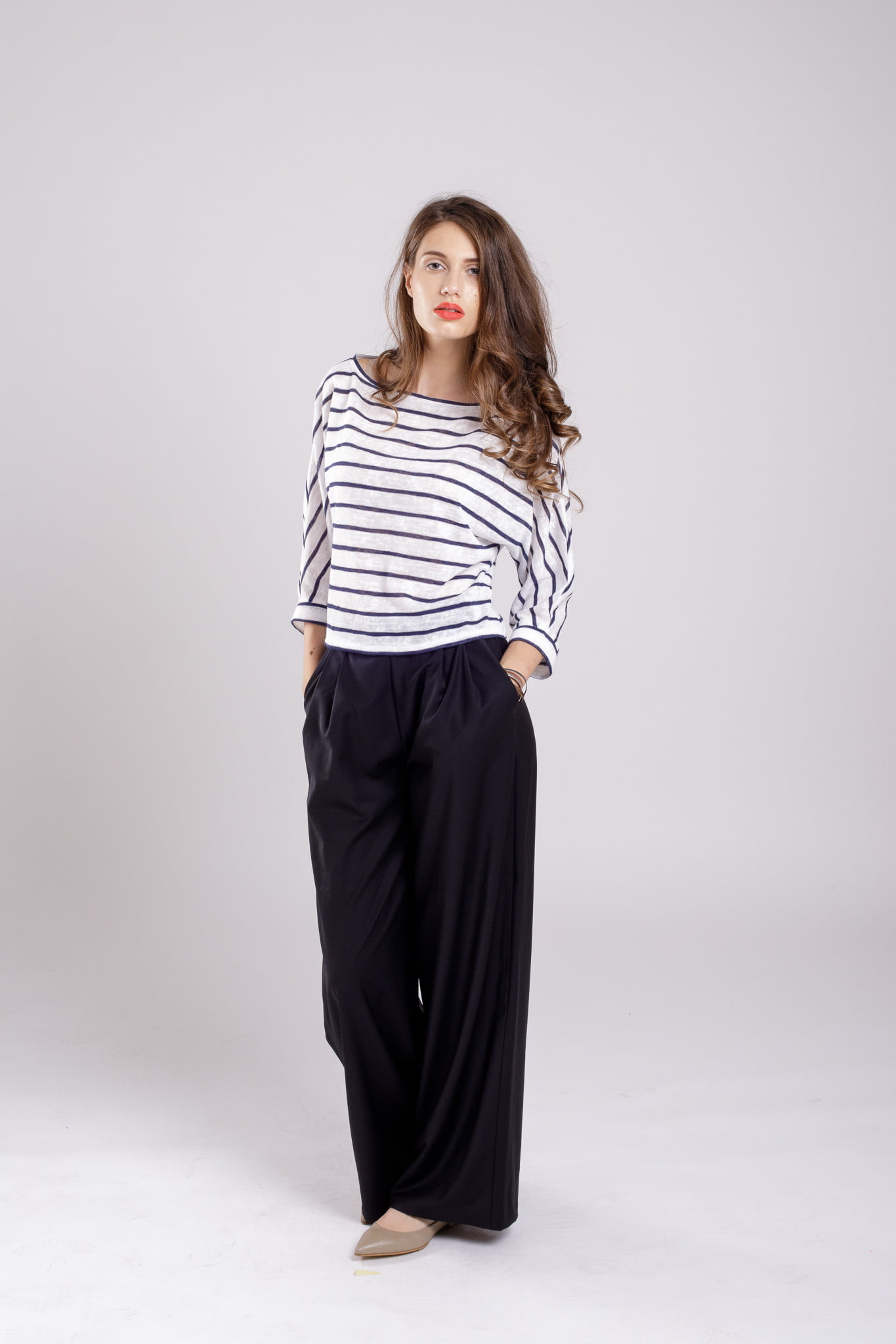 bluza pulover stripeddream