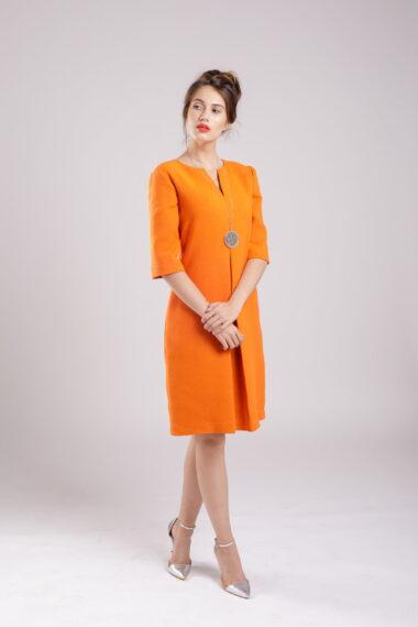 rochie pliu clasic dress