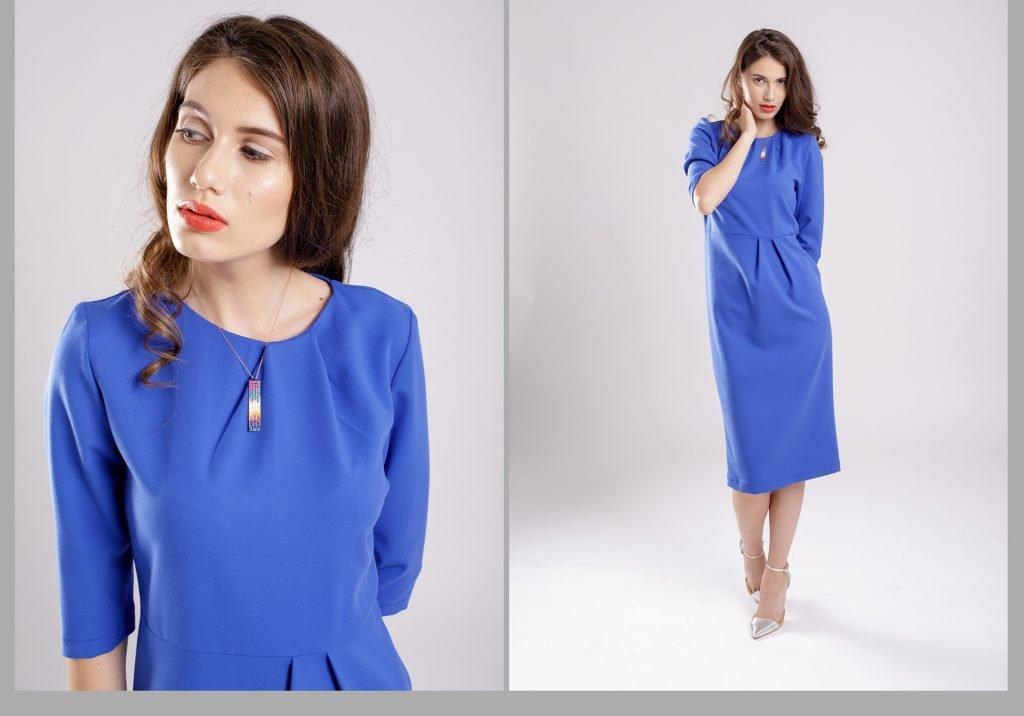 rochia albastra pentru aparitii albastre ca valurile marii