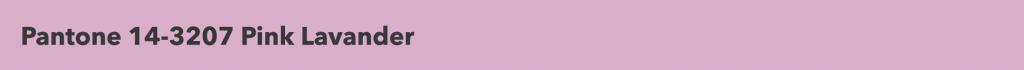 Pantone Pink Lavander