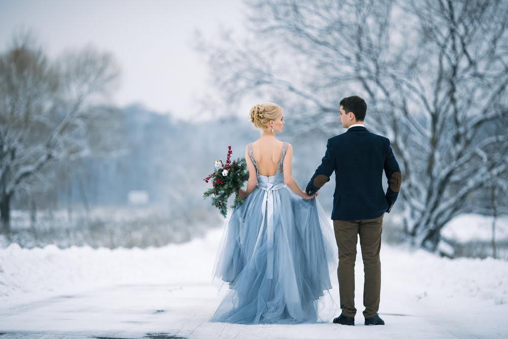rochii cununie civila iarna